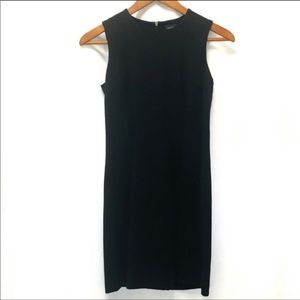 Ann Taylor Sleeveless Black Dress | Size 2 petite